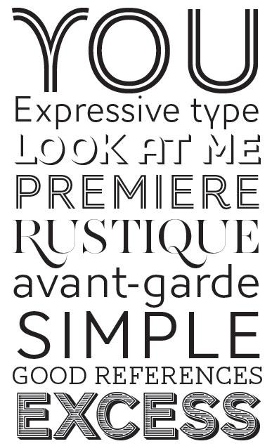 Fabulous typographie | typomanie* AR01