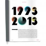 Vingtième anniversaire de la revue Wired.