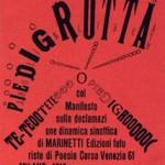 Cangiullo, 1916.